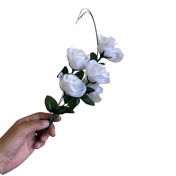 Flor Artificial Branca Unidade